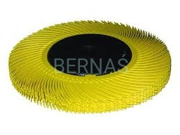 3M BB-ZB Radial Bristle Brush Yellow 152mm x 11mm